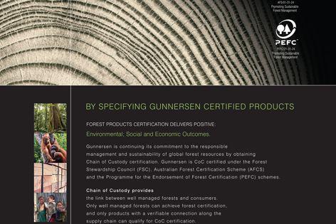 Gunnersen certified products