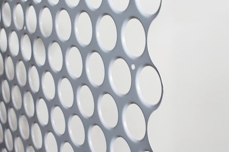 Ideal for ceiling applications, Locker Group's Odyssey perforated metal profile can be seamlessly installed across vast expanses.