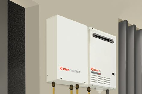 Rheem's Water Star works with a continuous hot water system to deliver six-star energy-efficiency.