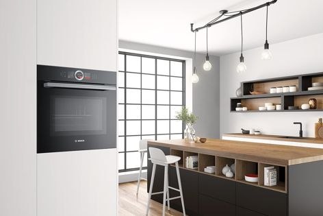 Series 8 ovens are stylish additions to home kitchens.