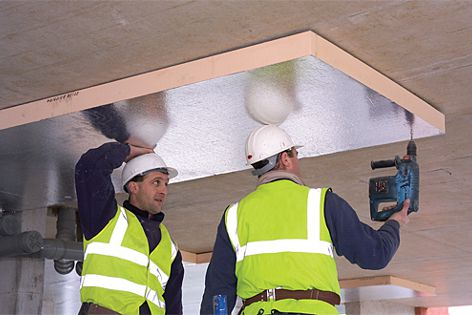 Kingspan Kooltherm® K10FM soffit board insulation offers advanced thermal and fire performance.