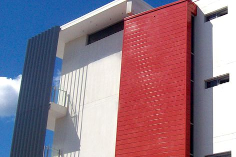 Ulltraclad from Wintec Aluminium avoids the problems associated with timber cladding.