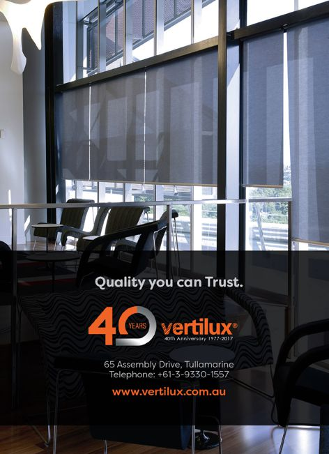 Window covering solutions by Vertilux