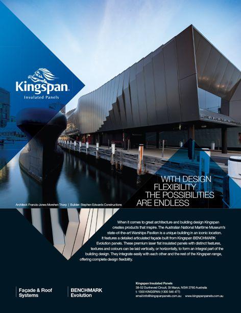 Benchmark Evolution panels by Kingspan