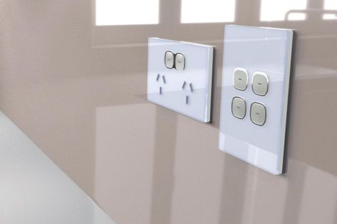 Transco's Opal power point, with its edgeless glass-look faceplate, received a 2019 German Design Award.