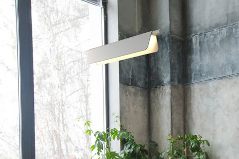 This award-winning pendant blends into any environment while still making a bold statement.