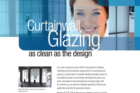 3M curtain wall glazing