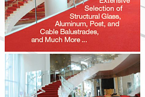 CRL balustrade and windscreen systems
