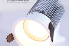 Eco13 Trimless LED downlight by Superlight
