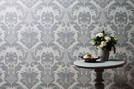 The Mason collection celebrates the artistry of traditional handcrafted wallpaper.