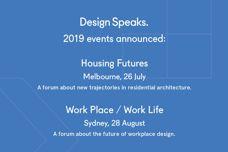 Design Speaks 2019 events