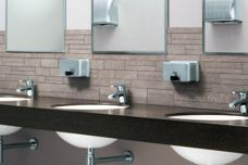 Washroom accessories from Bobrick