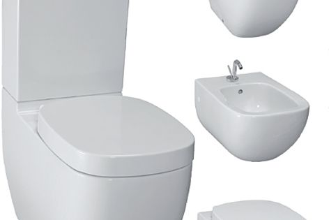 Laufen's Palomba Collection has been expanded with new washbasins & a selection of toilets and bidets.