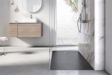 Cyprus Stonex shower floor by Roca