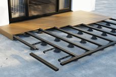 A durable deck framing and support system