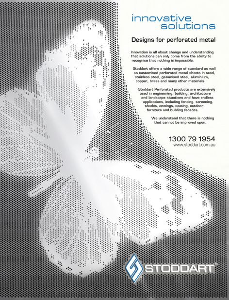 Perforated metal products by Stoddart