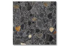 Fossil terrazzo tiles from Fibonacci Stone