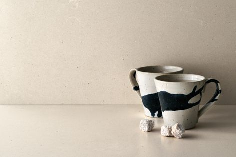 Fresh Concrete, one of the two new designs in Caesarstone's innovative Concrete Designs range.
