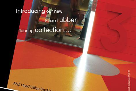 Signature's Flexo rubber flooring