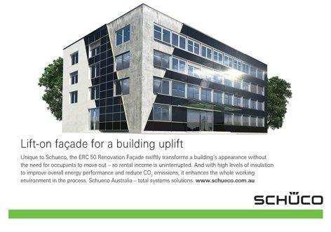 ERC 50 Renovation Facade from Schueco