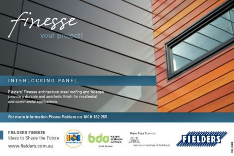 Finesse roofing and facades from Fielders