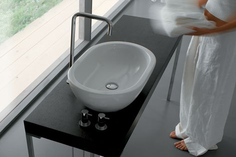 The Open Space range suits any bathroom setting, with over 20 designs and sizes.
