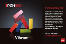 Vibrant bricks by CSR PGH Bricks