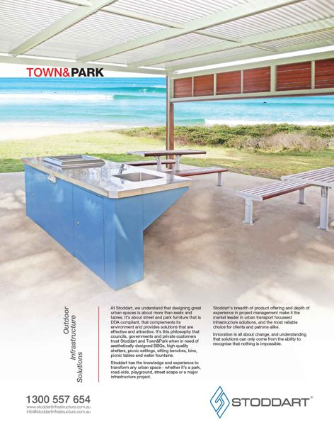 Town and Park infrastructure by Stoddart