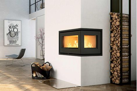 The Skamotec 225 building board for fireplace enclosures is new to Castworks from Danish-based manufacturer Skamol.