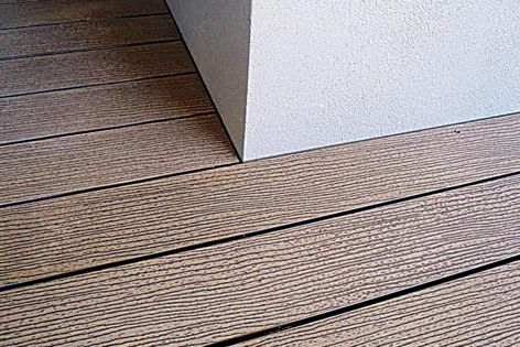 Futurewood's CleverDeck is a low-maintenance, cost- effective decking solution.