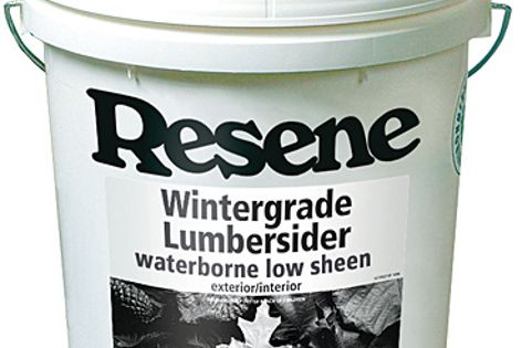 Resene's Wintergrade paint is designed to be applied in temperatures as cold as 2°C.