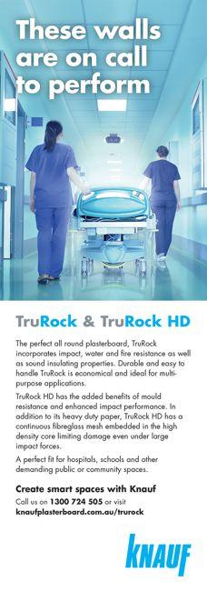 TruRock and TruRock HD by Knauf
