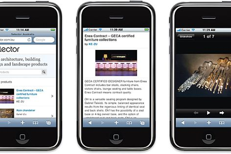 The mobile-optimized version of Selector, designed for smartphone platforms like iPhone and Android.