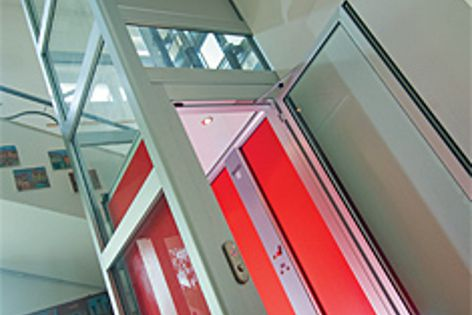 The Lifestyle lift, available from Master Lifts.  DesignBuild stand F14.