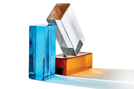 Poesia glass bricks from Austral Bricks