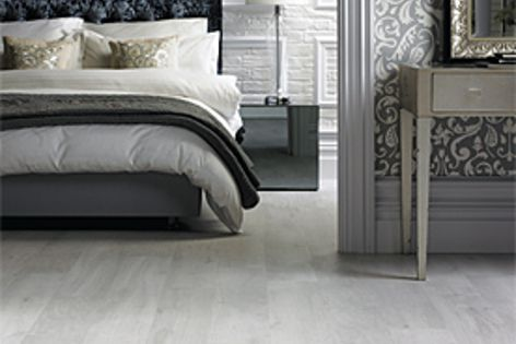 White Washed Oak, part of the Van Gogh collection by Karndean Designflooring.