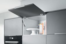 Transform overhead cabinets and optimize storage