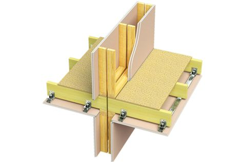 The Boral Multiframe timber-framed construction system is ideal for low-rise apartment buildings.