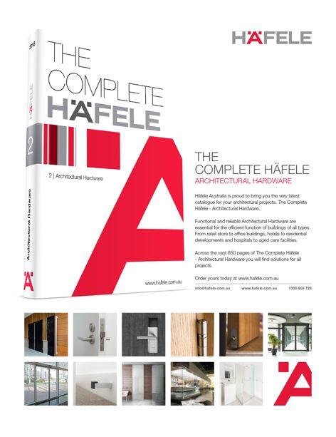 Hardware catalogue from Häfele