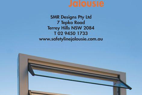 Safetyline Jalousie louvres