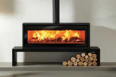 Riva Studio 3 wood-burning fire from Castworks