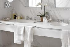 Corian integrated washbasins from CASF