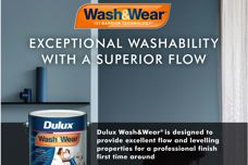 Wash & Wear paint by Dulux