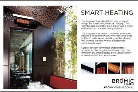 Tungsten Smart-Heat Gas from Bromic