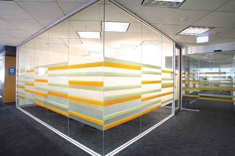 Lateral vinyl films have been used in the Department of the Attorney General's offices in Perth.