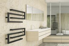 Heated towel rails from DC Short