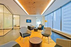 Screenwood linear timber used at Centric Wealth