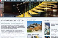 Ronstan Tensile Architecture website