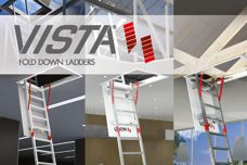 Vista fold-down ladders from Sayfa Systems