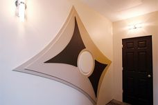 Plasterboard art by Trim-Tex